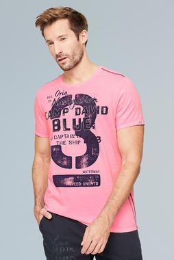 Tričko CCB-2002-3630 neon pink