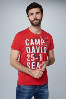 Tričko CCU-2000-3156 royal red