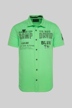 Košile CU2100-5407-42 tech green