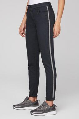 Džínové kalhoty SDU-2055-1522 black/ cozy beige