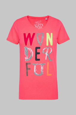 Tričko STO-2055-3625 neon rosa