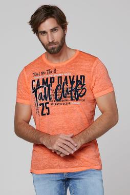 Tričko CCB-2004-3671 neon orange