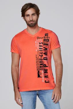 Tričko CCB-2004-3672 neon orange