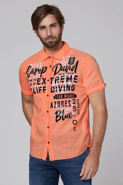 Košile CCB-2004-5677 neon orange