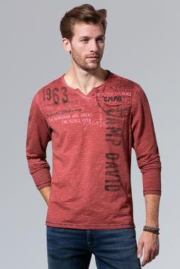Tričko CCG-1910-3071 maroon red