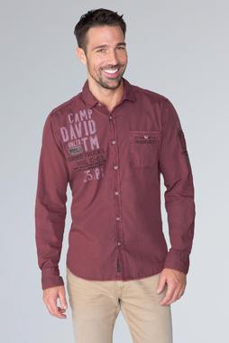 Košile CCG-1910-5080 maroon red