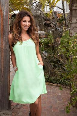 Letní šaty SPI-2003-7991 Lemon Drop