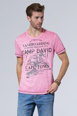 tričko ccu-1900-3952 neon pink