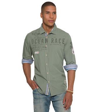 zelená košile Camp David Ocean Race