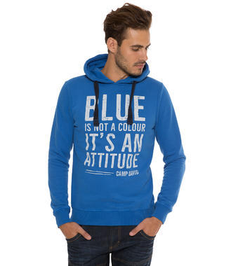 Modrá mikina Camp David Rough Waters