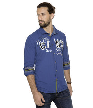 Košile CCB-1709-5753 diving blue
