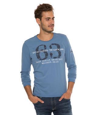modré tričko dl.rukáv CCB-1710-3757
