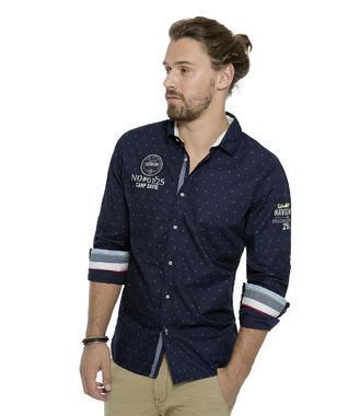 tmavě modrá košile CCB-1711-5017