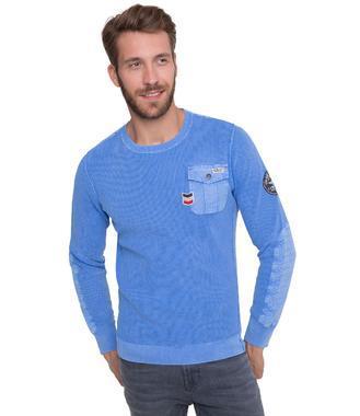 Svetr CCB-1801-4029 air blue