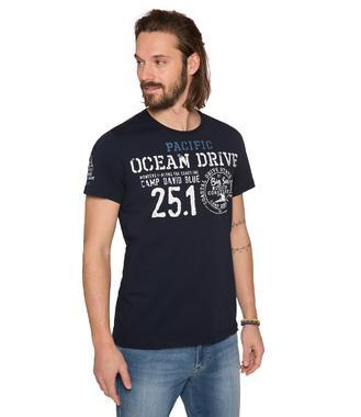 Tričko CCB-1803-3385 blue navy