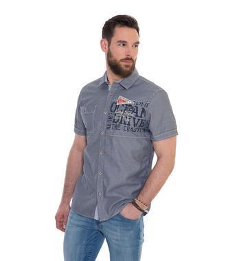 Košile Regular Fit CCB-1803-5394 blue navy
