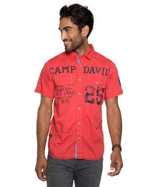Košile Regular Fit CCB-1803-5395 red sky
