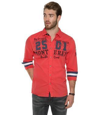 Košile Regular Hemd CCB-1803-5398 red sky