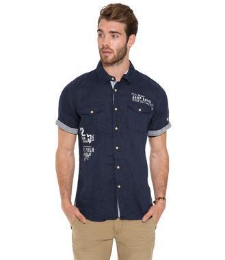 Košile CCB-1804-5417 dark ocean