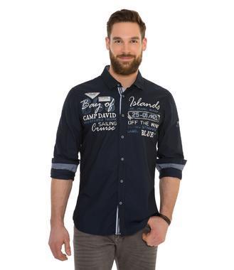 Košile CCB-1806-5629 Blue Navy