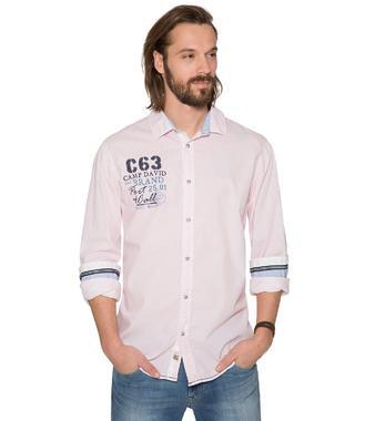 Košile CCB-1806-5632 Pink