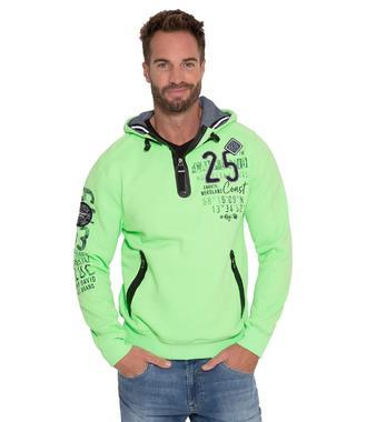 mikina CCB-1808-3748 neon green