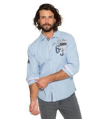 Košile CCB-1809-5774 mid blue
