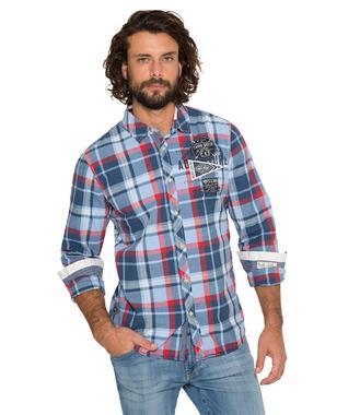 Košile CCB-1809-5776 blue navy