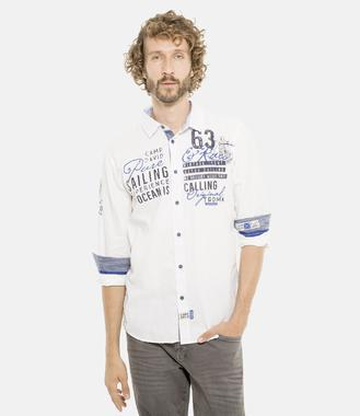 Košile CCB-1901-5098 optic white