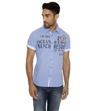 Košile CCB-1902-5340 sea blue