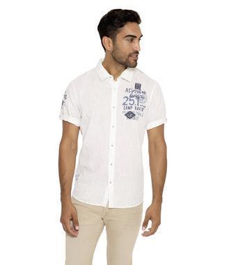 Košile CCB-1903-5361 optic white