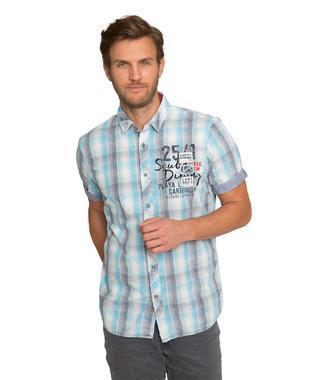 Košile CCB-1904-5378 summer aqua