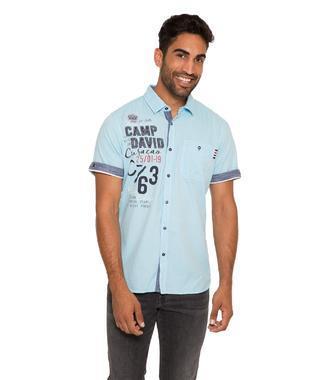 Košile CCB-1904-5379 summer aqua
