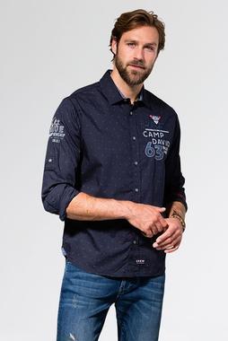 Košile CCB-1907-5848 Vintage Navy