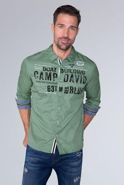 Košile CCB-1909-5030 Ocean Green