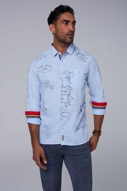 Košile CCB-1911-5411 sky blue