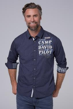 Košile CCB-1911-5412 blue navy
