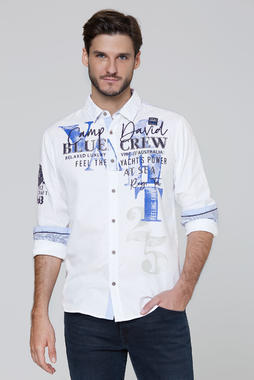 Košile CCB-2006-5085 opticwhite