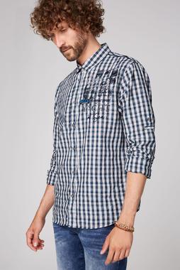 Košile CCB-2006-5086 blue dawn