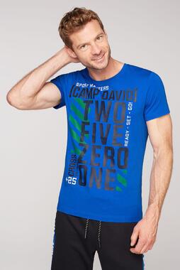 Tričko CCB-2102-3765 urban blue