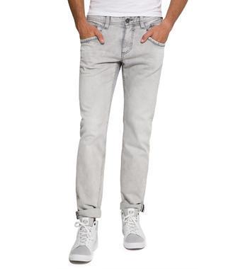 Worker Jeans, Grey Denim Aged