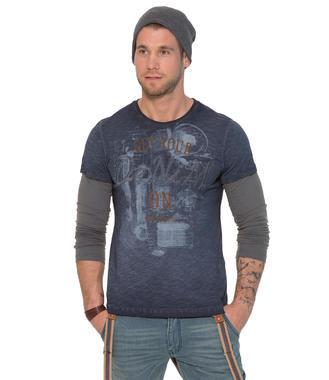 modré tričko CCD-1709-3848