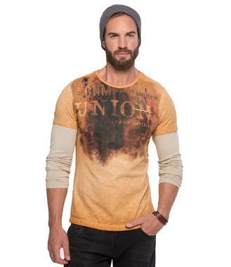 oranžové tričko CCD-1709-3848