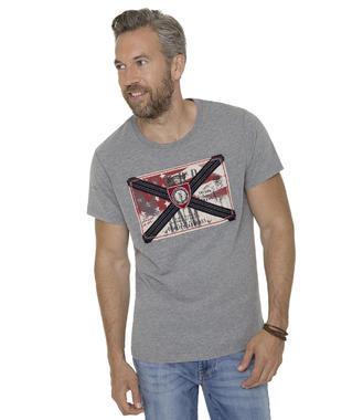 šedé tričko CCD-1709-3979