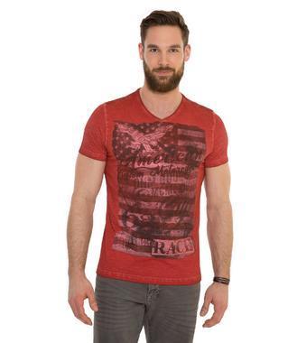 tričko CCD-1807-3850 vintage red