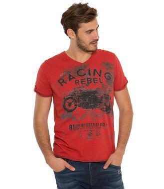 tričko CCD-1807-3852 vintage red
