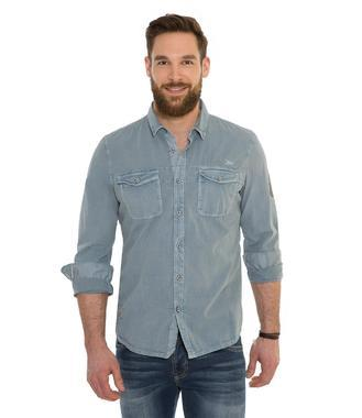 košile 1/1 CCD-1808-5861 blue stone