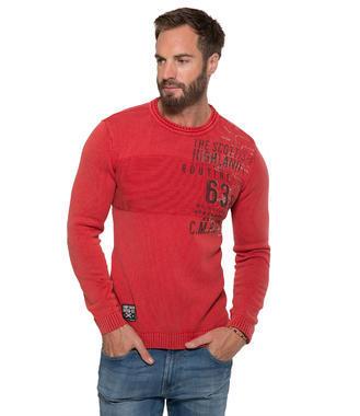 červený svetr CCG-1709-4806