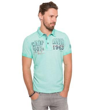 Polo tričko CCG-1804-3457 azure