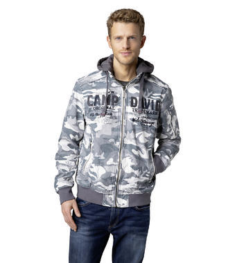 Bunda CCG-1900-2061 grey camouflage